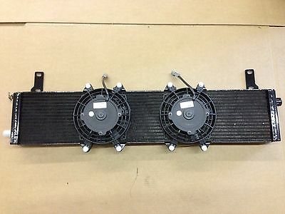 2005-2009 Ford Mustang GT Heat Exchanger w/ Fans works with Roush Saleen Shelby