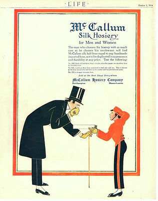McCallum Silk Hosiery  -    1914