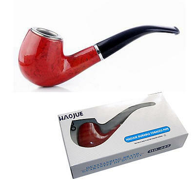 Haojue Wooden Look Smoking Pipe For Tobacco Boxed Good Quality Gift Antique