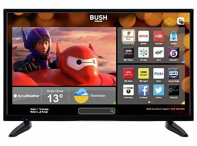 Bush 32 Inch HD DLED32287HDCNTDFVP Wi-Fi enabled Smart LED TV With Freeview Play