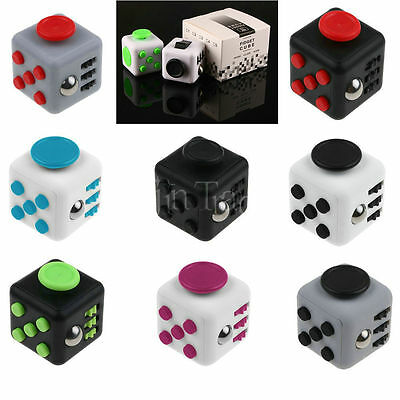 Divertente Nervosismo Cubi 6 Facce Cube Adulto Ansia Antistress Cube Ventola Toy