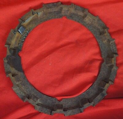 Ford Planter Metal Cast Steel Seed Plate with Metal Filler Ring Seeds Garden