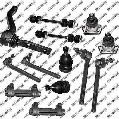 NEW FRONT END Steering Rebuild Kit Tie Rod End Fits 00-98 RWD Isuzu Hombre