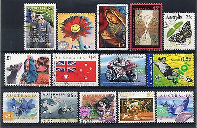 AUSTRALIA = Selection of Normal & International Post. Fine Used. Good value. (c)