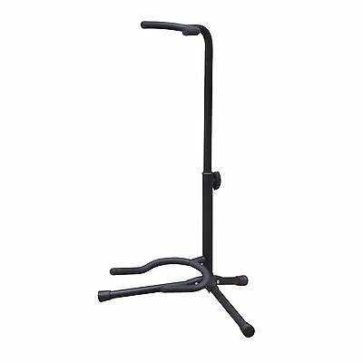 Floor Standing Electric Guitar Stand With Tripod Base NJS070