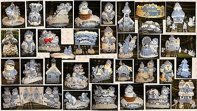 32 Collectible Snow Buddies Figurines