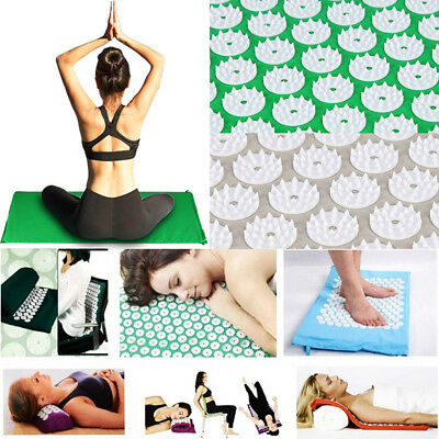 Massage Acupressure Mat Yoga Seat Lying Mats Release Pain Stress Tension