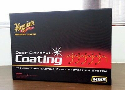 Meguiars Mirror Glaze Deep Crystal Coat Coating kit M18802