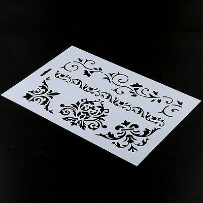 Flower Flower Layering Stencils Scrapbooking Embossing Paper Cards DIY Craft fg