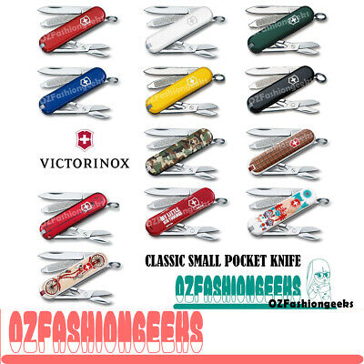 VICTORINOX Swiss Army Knife Classic Tool 0.6223 Small Pocket Knife Multi Colours