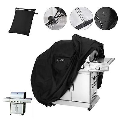 145 cm Imperméable Barbecue Couvrir Extérieur Jardin Barbecue Grill Stockage