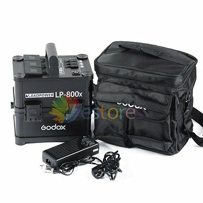 GODOX LP-800x 800W LEADPOWER Inverter Power Battery Pack Fr Outdoor Studio Flash