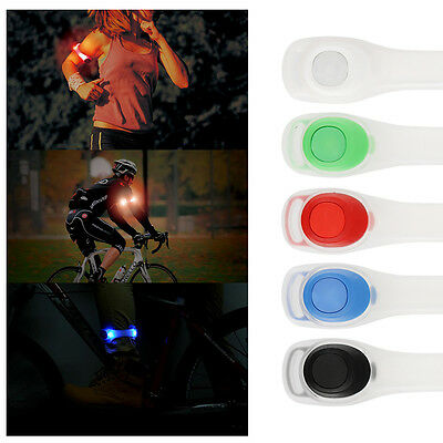 Outdoor Night Safety Sport Cycling Bike Shoe Clip LED Bright Light For Running
