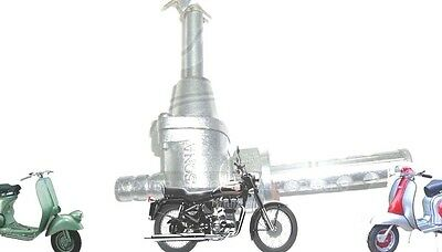 Lambretta Complete Fuel Tap Metal Filter Gp Li Tv Sx Scooters Spares2U