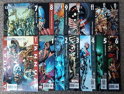 The Ultimates 2 - #1 2 3 4 5 6 7 8 9 10 11 12 13 + ANNUAL Complete Set - Marvel