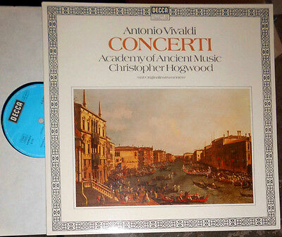 Vivaldi Concerti Christopher Hogwood Academy Of Ancient Music Lp