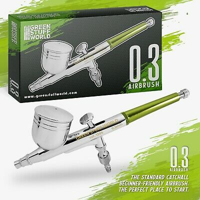 Dual-action GSW Airbrush 0.3mm, Painting Tools, model color, brush, modelling