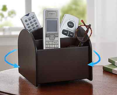 Swivel Remote Control Holder Storage For Your Remotes, Phones, Pens, Glasses!