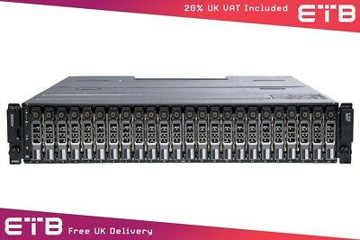 Dell PowerVault MD3420 - 24 x 600GB SAS, Dell Enterprise Class HDDs, Rails
