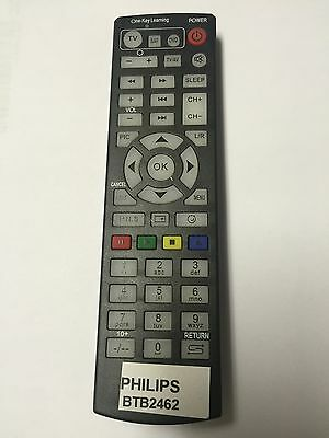 Replacement Remote Control for Philips Micro Music System DAB,CD,MP3,USB BTB2465