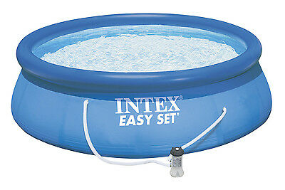 "Intex Easy Set 12' x 36"" Pool with Filter Pump - Intex 28146 NEW"
