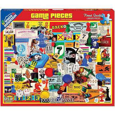 "Jigsaw Puzzle 1000 Pieces 24""X30"" Game Pieces WM1174"