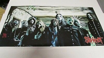 "SLIPKNOT All Hope Is Gone 12x24"" 2 Sided CD / Record Store Poster"
