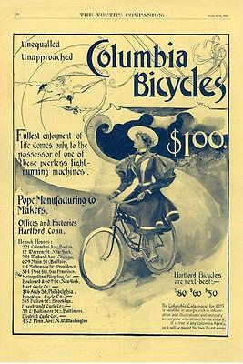 Columbia Bicycle   -   Pope Manufacturing Co.    -  1895