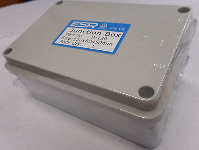 Esr Enclosure Junction Box Adaptable Plastic Pvc Ip56 Waterproof Weatherproof