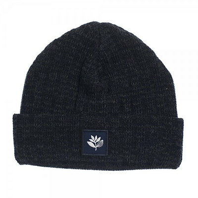 Magenta Skateboards Ribbed Wool Beanie Charcoal Blue