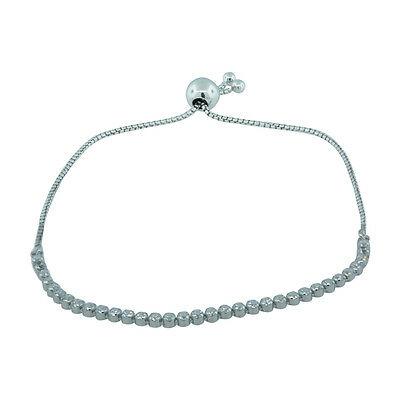 Authentic Pandora Sparkling Strand Bracelet, Clear CZ, 9.8 in, 590524CZ-2