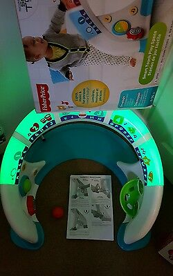 Fisher-Price Bright Beats Smart Touch Play Space Playset.