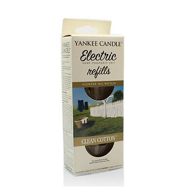 Yankee Candle Clean Cotton Scent Plug Refills