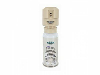Ssscat Cat Training Aid Spray Control System 115ml, Motion Detector, Refill Can