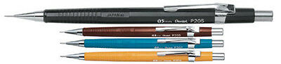 Pentel P200 Automatic Mechanical Pencil - 0.3 0.5 0.7 0.9 mm P203 P205 P207 P209