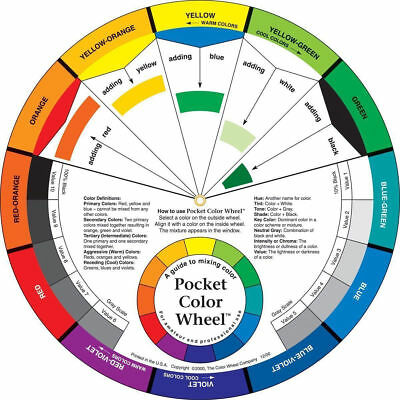 Pocket Colour Wheel -  Colour Mixing