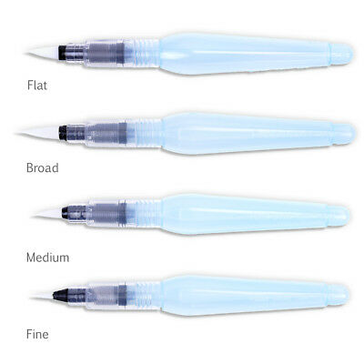 Pentel Aquash Water Brush - Ideal for Watercolour Pencils - Choose from 3 Sizes
