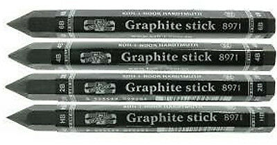 Progresso Jumbo Woodless Graphite Sticks - HB, 2B, 4B or 6B pencils available