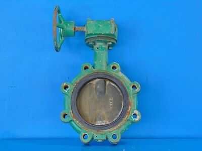 "Demco 6"" Manual Butterfly Valve"