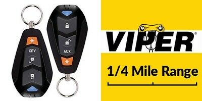 DEI Viper 4105V 1-Way Keyless Entry Remote Start System /w Two 4-Button Remotes
