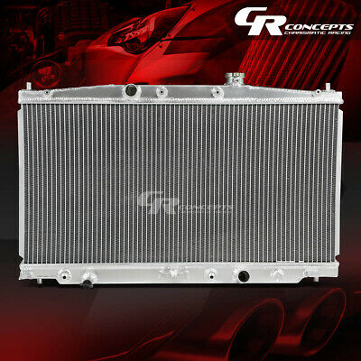 2-ROW FULL ALUMINUM CORE RADIATOR FOR 10-13 CR-Z INSIGHT ZF1 ZE2 LEA1 LDA3 AT MT