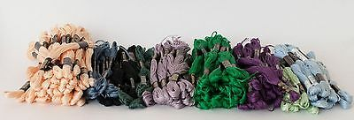 (New) Lot of 142 Skein, Floss, DMC, Embroidery Floss Thread - Designs Needles