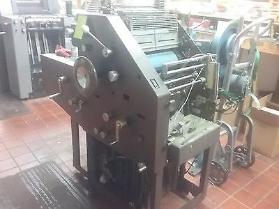 AB Dick 9810 1 color printing Press