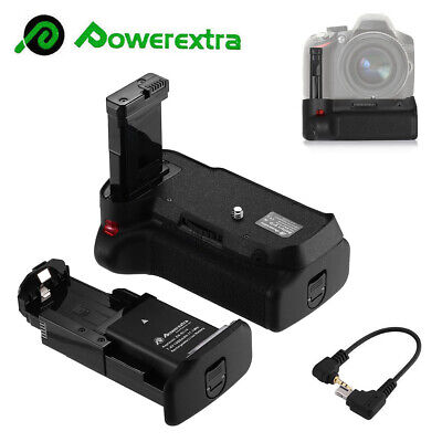 Vertical Battery Grip EN-EL14A for Nikon D3100 D3200 D3300 D5300 SLR + IR Remote