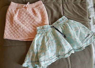 Girls x2 skirts. Country Road + Jack & Milly. Size 3