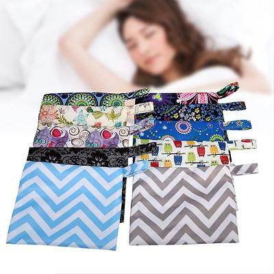 1PC Washable Wet Bag Pouch Reusable Mama Cloth Menstrual Sanitary Maternity Pads