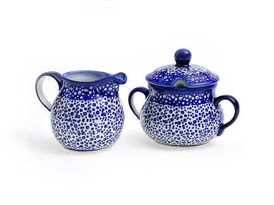 Bunzlauer Keramik Sugar Bowl & Milk Jug Set of 2 Decor Madm Handmade NEW