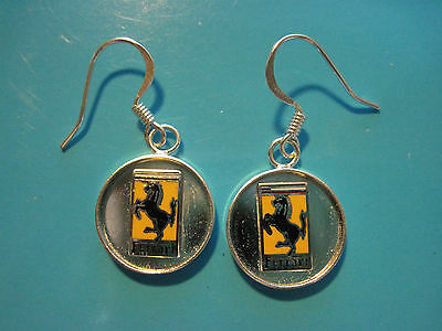 FERRARI earrings