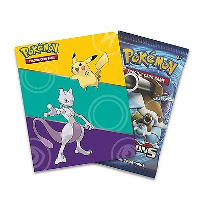 Pokemon XY12: Evolutions Collector's Mini-Album With 1 Booster Pack