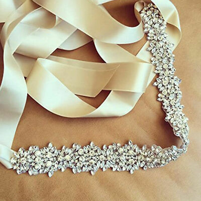 Crystal Belt Rhinestone Belt Pearls Sash Bridal Sash Wedding Sash Dress Sash